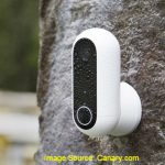 Canary Flex Weatherproof security camera for outdoor use