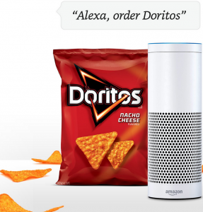 Alexa can even order food