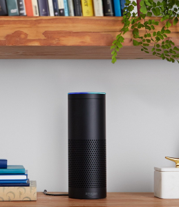 The Amazon Echo does not look out of place in any setting