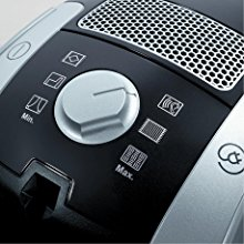 6 suction settings on Miele C1 Compact Turbo Team